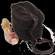 Velvet Shoe Bag Double Pair Dance Shoe TN