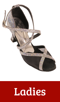 Dance Shoes of Tennessee Ladies Ballroom Dancing